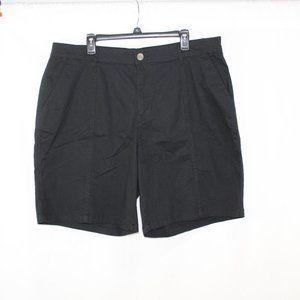 Joe Fresh Black Cotton Shorts NWT
